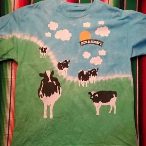 Vintage Ben and Jerry T shirt